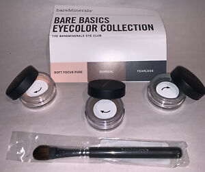 """Bare Minerals Eye Club, 3-piece set, """"A"""", unopened and sealed, F/S"""