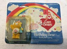 1980's Care Bears BIRTHDAY BEAR miniature Ready to Party (60480)