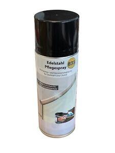 B35 - Edelstahl Pflegespray 400ml zum Schutz von Chrom- und Edelstahloberfläche