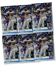 2019 Topps Series 1 Pedro Strop (6) SIX Card Lot Chicago Cubs Card #142