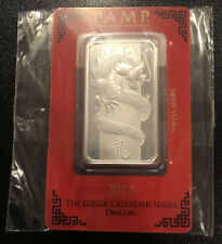 NEW UNIQUE PAMP SILVER IRIS CHARM BAR SEALED 999 PURE