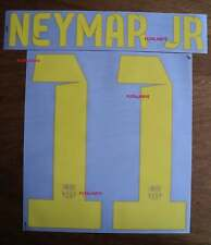NEYMAR JR # 11 Barcelona FC Home 2013-14 Official Name Set Sipesa