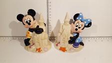 (Lot 523) Walt Disney Collectables - Mickey & Minnie Ceramic Money Boxes