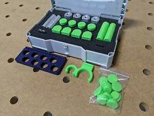 Festool MFT FX Bench Dog Set in Systainer for MFT/3 Tables w/ Rail Connectors