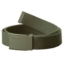 Rvca Men's Option Web Belt Olive Camo Green Accessories Casual Good Quality