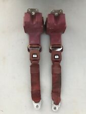 AMC Concord Eagle Spirit Red Rear Seatbelt Set Rare
