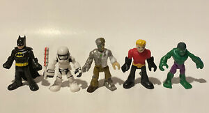 Dc Comics Star Wars Action Figures Lot