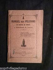 Manuel des Pèlerins du Diocèse de Rennes à Notre-Dame de Lourdes, 1927