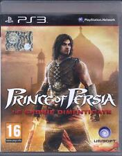 Playstation Ps3 gioco **PRINCE OF PERSIA ~ LE SABBIE DIMENTICATE** Usato Sicuro