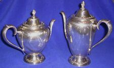 Rogers & Bros Silverplate Coffee (#2301) & Tea (#2302) Servers - Shipping Incl