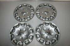 "MAZDA 626 MX6 Factory OEM Original Logo 14"" Hub Caps 95 96 97 56529-A (Set of 4)"