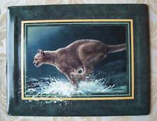 Vanishing Treasures Panther Plate The Chase +Coa