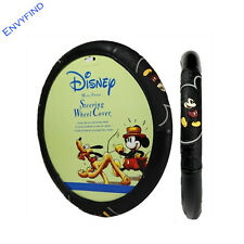 NEW Disney Mickey Mouse Vintage Classic Pose Car Truck SUV Steering Wheel Cover