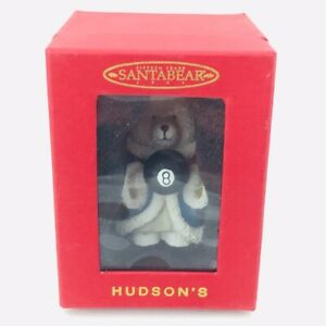 Dayton Hudson Santa Bear Ornament 1999
