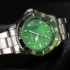 GONEWA Herren Militär Armbanduhr Edelstahl Datum Sport Quartz Analog Watch DE