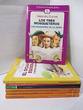 LOS TRES MOSQUETEROS: LOS DIAMANTES - DUMAS Spanish Literature Libros EN Espanol