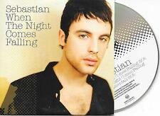 SEBASTIAN - When the night comes falling CD SINGLE 2TR Europop 2007 SWEDEN