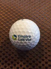 LOGO GOLF BALL-EMPIRE LIFE/VIE INSURANCE...FINANCIAL.....MINT PROV1 BALL