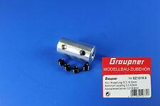 Alu-Kupplung 3,2 / 4,0mm Best.-Nr.: SZ1018.8 v. Graupner / Günther Modellsport
