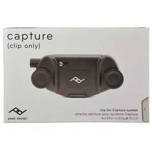 Peak Design Capture V3 Camera Clip NO PLATE CC-BK-3 - Black CLIP ONLY NEW 2017