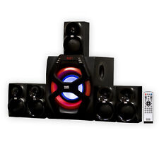 Acoustic Audio AA6101 Home Theater 5.1 Speaker System with Bluetooth & USB / SD