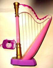 SIMBA Toys Musikinstrument Harfe +Sound &Spielzeug Kamera Pferde Bilder Spielset