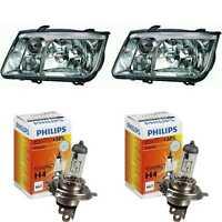 Scheinwerfer Set für VW Bora Bj. 09/98->> H4 Frontscheinwerfer inkl. Lampen