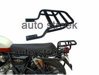 Royal Enfield Twins Interceptor 650cc Rear Luggage Rack Carrier Black