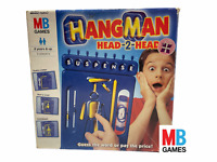 HANGMAN Head-2-Head Game 2002 by MB Games. 'Guess the Word'  -Complete-