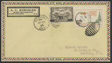 1933 Canadian Airways Cinderella on Cover, Gogama Ont, Roessler Production