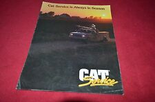 Caterpillar Cat Service is Always In Season Dealer's Brochure DCPA6