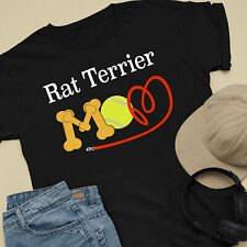 Rat Terrier Dog Mom and Dad Comfy Cute Dog Lover T-Shirt