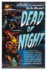 RARE 16mm Feature: DEAD OF NIGHT (Michael Redgrave) BRITISH HORROR / UNCUT