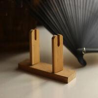 Retro Mano Di Bambù Supporto Del Ventilatore di Stile Cinese Ventaglio
