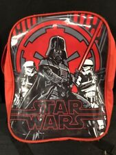 Star Wars Mini Backpack Small Red Darth Vader Storm Troopers Offical Lucas Film
