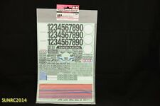 Tamiya 40556 RC TT Marking Sticker - Number