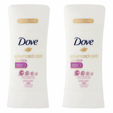 Pack of (2) Dove Deodorant 2.6 Ounce Adv Care Anti-Perspirant Pink Rosa (76ml)