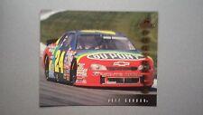 1997 NASCAR Pinnacle Portraits 8 x 10 Jeff Gordon GM Monte Carlo #JG4 Card