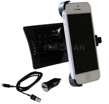KFZ Halterung für iPhone SE Lüftungsgitter Lüftung Auto Handy Halter + Ladekabel