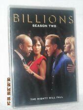 Billions Season Two 2 (DVD, 2017, 4-Disc) Paul Giamatti Damian Lewis Maggie Siff