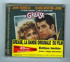 CD (NEW) OST O.NEWTON JOHN J.TRAVOLTA GREASE LIMITED EDITION 20TH ANNIVERSARY