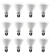 Ecosmart 65W Light Bulbs Replacement 12-Pack 685lm Dimmable LED BR30 5000K