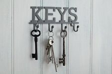 Metal Keys Holder Wall Mounted Hook Organizer Keys Jewelry Rack Keychain