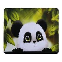 Cute Panda Anti-slip MousePad Rubber Mice Mat For Optical Wireless Laser Mouse