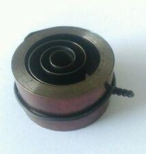 Reloj francés y en alemán agujero final muelle motor altura 23 Force 0.45 diámetro 45