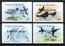 BARBUDA 1987 Vögel Water Birds Oiseaux Uccelli 958-961 **