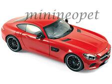NOREV 183496 2015 15 MERCEDES BENZ AMG GT 1/18 DIECAST MODEL CAR RED