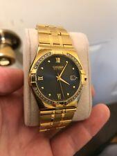 Citizen Eco-Drive Elektra 28 Diamonds Gold-Tone Men's Watch BM0722-57E SD