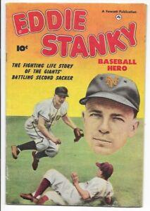 1951 Fawcett New York Giants Eddie Stanky NN Fine+ 6.5