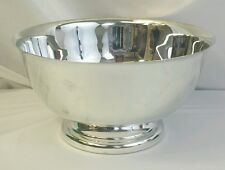 "Sheridan Taunton Silversmith Silverplated 10"" Footed Bowl"